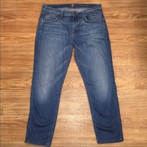 Seven jeans-cropped relax